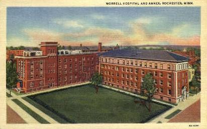 Worrell Hospital and Annex Rochester MN Unused