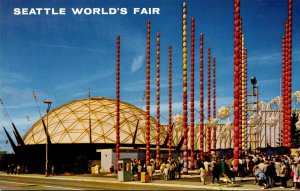 Washington Seattle World's Fair South Gate and Ford Building