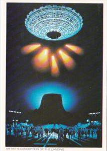 Close Encounters Of The Third Kind Artist's Conception Of The Landing