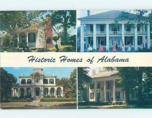 Pre-1980 HISTORIC HOMES Tuscumbria & Birmingham & Tuscaloosa & Forkland AL H4423