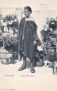 TANGER , Morocco , 00-10s ; A Moorish Boy