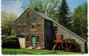 Post Card United States Massachusetts Rowley The Jewel Mill
