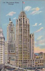 Illinois Chicago The Tribune Tower