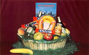 Advertising Post Card McKnight Flowers Inc Pittsburgh, PA USA Unused