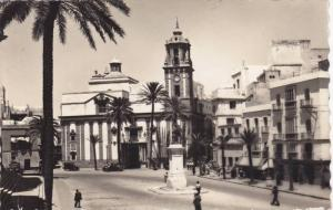 RP, Cathedral Square And Saint Jame's Church, Cadiz (Andalucia), Spain, 1920-...