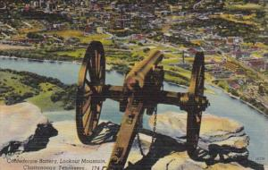 Tennessee Chattanooga Confederate Battery Lookout Mountain