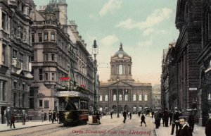 Liverpool (Lancashire), England, UK, 00-10s; Castle Street & Town Hall