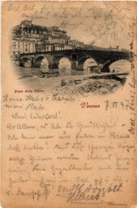 CPA VERONA Ponte della Pietra . ITALY (448615)