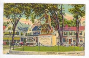 Professioanl Fisherman's Monument, Gloucester, Mass., PU 1943