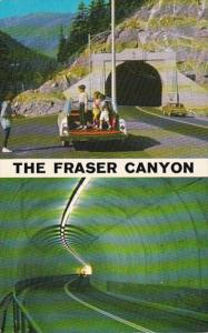 Canada Fraser Canyon China Bar Tunnel 1970