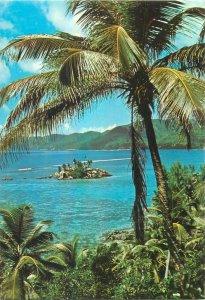 Seychelles anse royale Mahe postcard