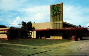 Florida Fort Lauderdale Hank Hagmann's Pal's Restaurant 1956