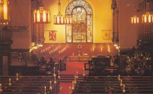 The beautiful interior of the Central Presbyterian Church,  Hamilton,  Ontari...