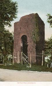 VA - Jamestown, Old Church Tower