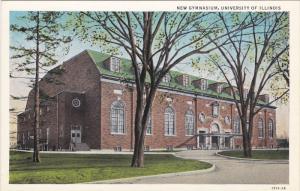 ILLINOIS, 1900-1910´s; New Gymnasium, University Of Illinois