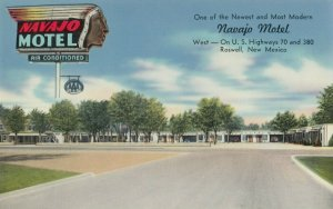ROSWELL , New Mexico , 1950-60s ; Navajo Motel