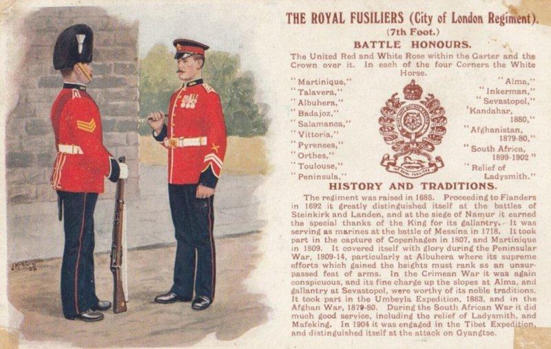 The Royal Fusiliers (City of London Regiment) , UK , 00-10s