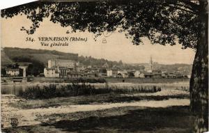 CPA Vernaison Vue generale (614412)
