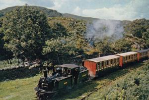 Talliesin Farlie Locomotive Train Railway Postcard