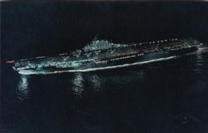 U S S Antietam CVS-36 First Angled Deck Carrier Anti-Submarine Carrier