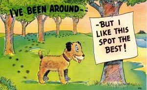 Comic - I've been around… (dog)