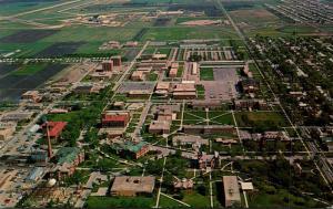 North Dakota Fargo Aerial View North Dakota State University