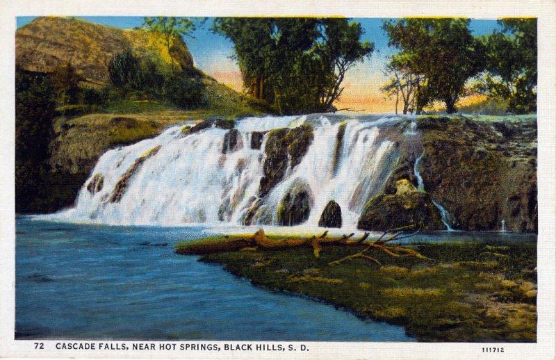 [ Linen ] US So. Dakota Black Hills - Cascade Falls