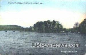 Twin Bridges in Belgrade Lakes, Maine