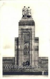 Oran Algeria, Africa, Monument aux Morts  Real Photo Monument aux Morts