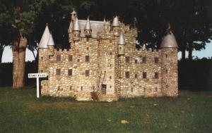 Model of Clamis Castle at Woodleigh Replicas, KENSINGTON, Prince Edward Islan...