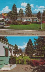 2-Views, Midway Motel, On Hwy 97, Penticton, British Columbia, Canada, 1940-1...