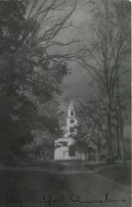 Old Church ~ Posted at Salem MA ~ Unknown Location ~ c1944 RPPC Postcard