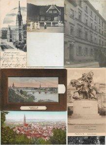 Germany- Stuttgart Munich Heidelberg Bad Cleve And More Postcard Lot of 38 01.05