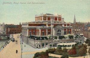 STOCKHOLM  , Sweden , 1900-10s ; Opera House