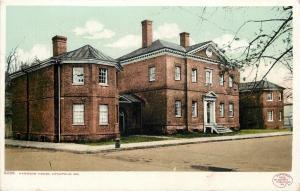 Annapolis MD~Harwood House~1905 Detroit Publishing Co #9296~Postcard