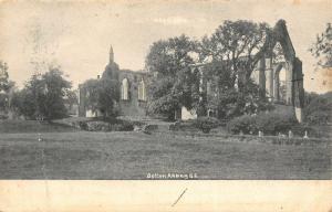 Bolton Abbey South East Ruins Postcard