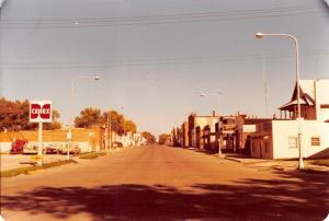 Flandreau South Dakota~Cenex Gas Station~Dale's Zenith Furniture Store~1978 RPPC