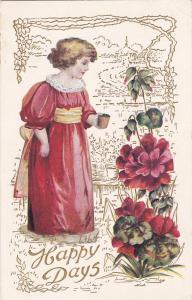 Girl & Flowers , Happy Days , 00-10s