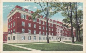 MEMPHIS, Tennessee, 1900-1910's; World War Veterans Hospital