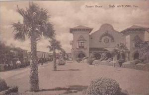 Texas San Antonio Sunset Railroad Depot
