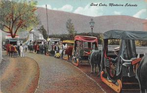 6297 Portugal Madeira Islands   Sled Cabs