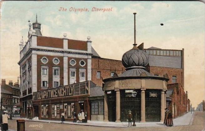 England Liverpool The Olympia 1909