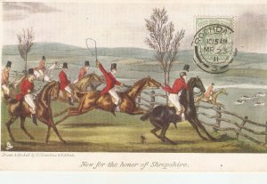 Now for the honor of  Shropshir. Horses Tuck The Olde Prints Series. PC # 2723