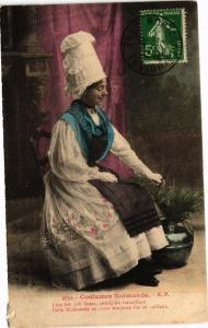CPA Costumes Normands (138432)