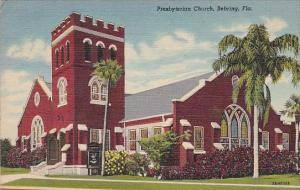 Florida Sebring Presbyterian Church 1955 Curteich