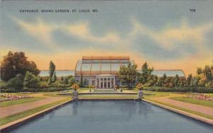 Entrance Shaws Garden Saint Louis  Missouri 1940