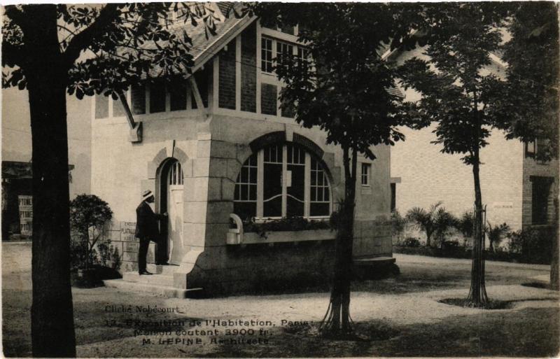 CPA PARIS EXPO de l'Habitation Maison coutant 1900 fr M. LEPINE (567994)
