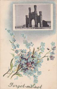 DUNDEE, Angus, Scotland, 1900-1910´s; Royal Arch, Flower Bouquet, Forget Me...