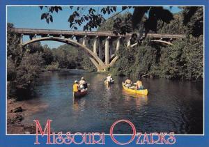 Canoe Float Trips In The Missouri Ozarks Missour
