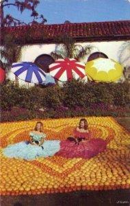 ORANGE FESTIVAL TIME IN FLORIDA 1956